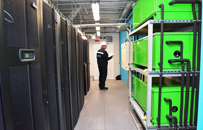 ЦОД . Проектирование серверных помещений